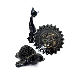 Catálogo de piezas para decorar hechas en Barro Negro