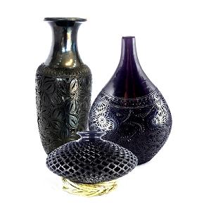 Floreros o jarrones hechos en Barro Negro