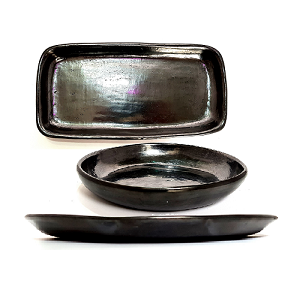 Platos Uso en Barro Negro (Dar Clic en Foto para Ver Detalles)